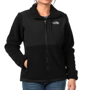 North Face Zip Up Fleece Jacket - Black